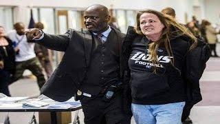 UPDATE: Flint Town Hall Arrests