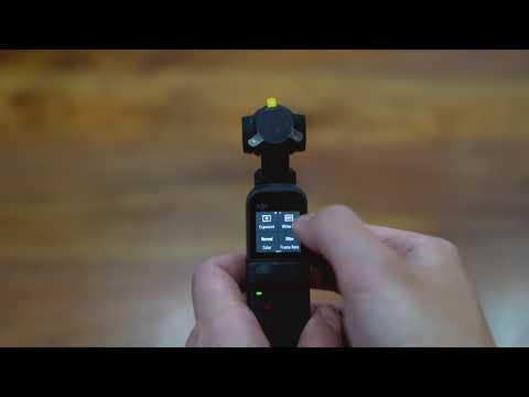 DJI Pocket 2 - Pro Mode Setting