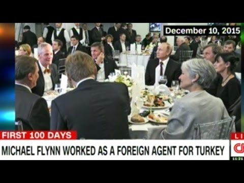 General Michael Flynn Worked As Foreign Agent For Turkey!