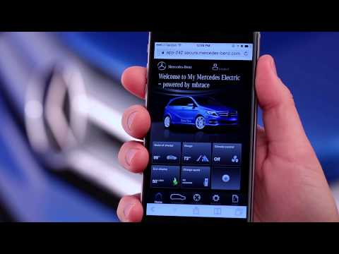 Mercedes-Benz Apps — How To: My Mercedes Electric Homepage