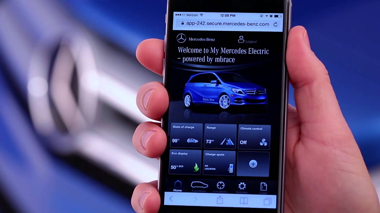 Mercedes benz apps how to my mercedes electric homepage for Mercedes benz app for iphone