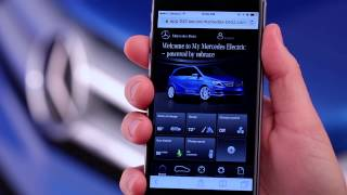 Mercedes: Mercedes-Benz Apps — How To: My Mercedes Electric Homepage