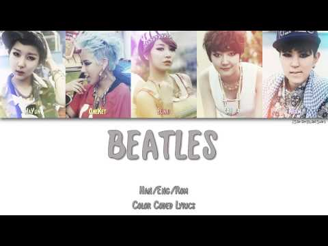 GI (GLOBAL ICON) (지아이) - BEATLES (비틀즈) [Color Coded Han|Rom|Eng]