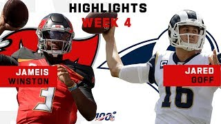Winston & Goff Throw for Over 900 Yds & 6 TDs!