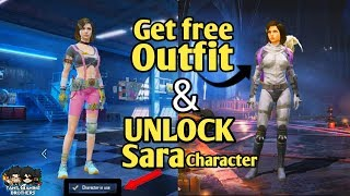 HOW TO UNLOCK SARA BY VOUCHER | GET FREE OUTFIT LUCKY DRAW | PUBGMOBILE | TamilGamingBrothers |