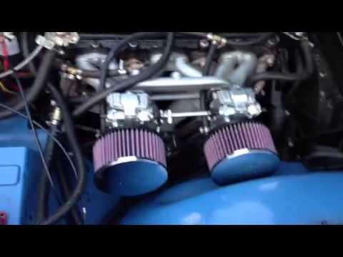 Engine Tune Up >> TR6 with HSR Mikuni carbs - YouTube