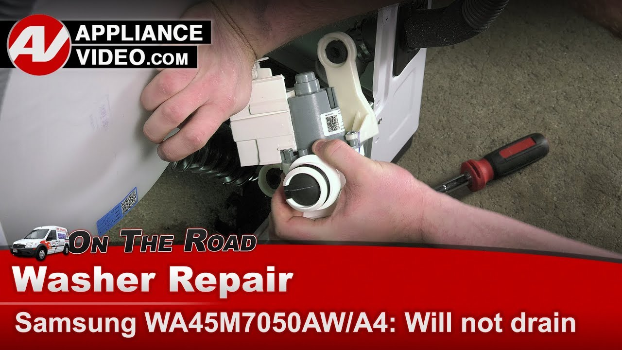 Samsung Washer Drain Pump issues - Diagnostic & Repair on