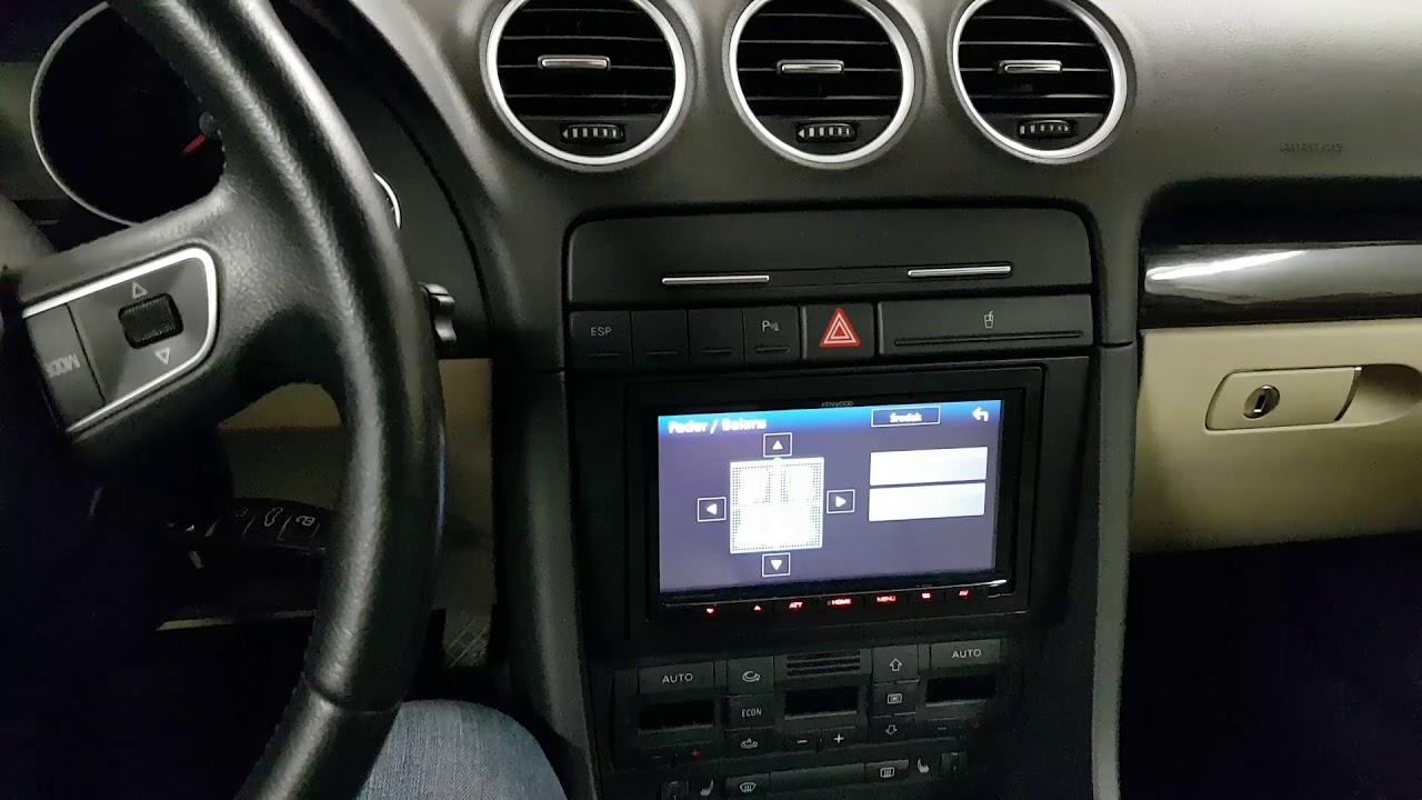 seat exeo audi a4 b7 bose kenwood dmx7017bte audio system. Black Bedroom Furniture Sets. Home Design Ideas