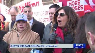 Strike affecting 10,000 New York City nurses authorized
