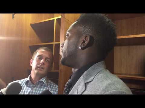 Tennessee Titans WR Harry Douglas Interview Part 1 (08-20-16)