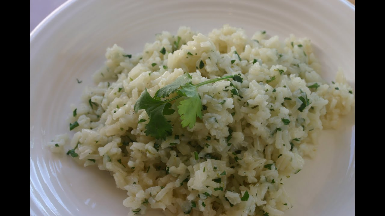 Easy Cilantro Lime Rice - A Nice Alternative To Spanish Rice by Rockin ...