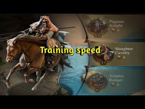 Clash Of King 2020 : Speed Training Troop