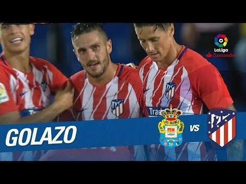 Golazo de Koke (1-4) UD Las Palmas vs Atlético de Madrid
