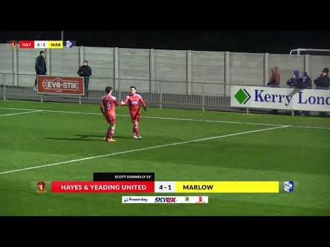 Hayes & Yeading v Marlow - 6th Feb 2018