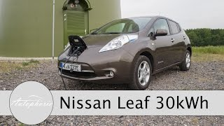2016 Nissan LEAF 30 kWh im Test / Fahrbericht / Review