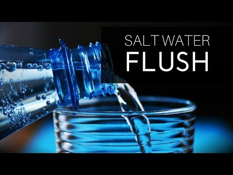 Salt Water Flush Review For Chronic Constipation