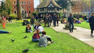 Video Golden Square to Soho Square (incl. Street Food Market) - Walking in London download MP3, 3GP, MP4, WEBM, AVI, FLV Agustus 2017