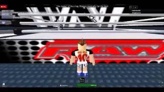 WWE L'entrée Miz (Roblox)