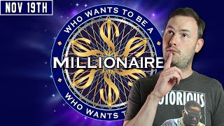 Sips Plays Who Wants to be a Millionaire (Speedrun Edition) - (19/11/20)