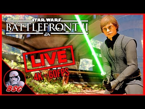 Star Wars Battlefront 2 PC and PS4 Gameplay | 4K Live Stream (4K 60FPS) thumbnail