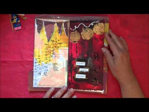 DeConstructed Art Journal Group #9