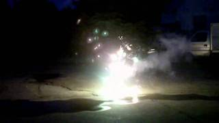 Sparkling Gems Opal Firework Fountain @ Astoundedfireworks.com