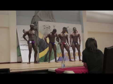 Bodybuilding competition 2018 south africa #ifbbsa at Edgewood Campus