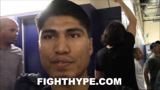 MIKEY GARCIA REVEALS CONVERSATION WITH ANDRE WARD ABOUT HIS LAWSUIT VICTORY AND FREE AGENCY