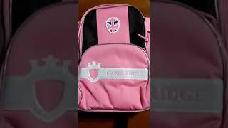 Рюкзак школьный CAMBRIDGE для девочки видео обзор