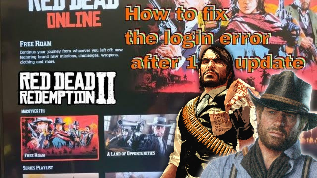 Red Dead Online ( 2019 ) How to fix error code 0x20010006 and 0x99350000  #rockstargames #rockstar