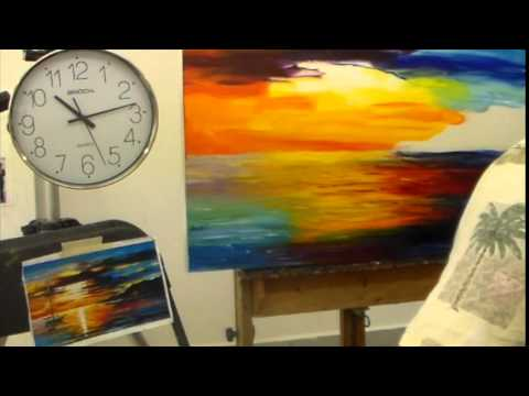Leonid Afremov  - Video blog about copies and recreations