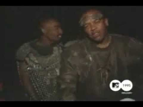 2Pac, Dr Dre, Chris Tucker and Suge Knight on the...