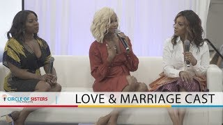 CAST OF LOVE AND MARRIAGE - CIRCLE OF SISTERS EXPO 2019