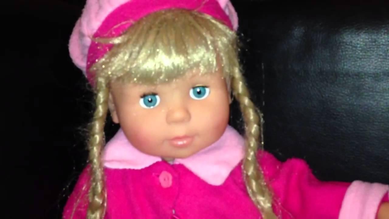 Girls Doll Speaks German Puppe Spricht Deutsch العاب بنات