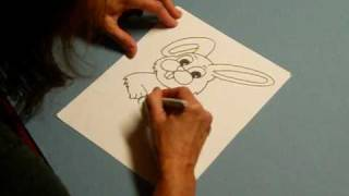 The Coloring Barn Easter Bunny