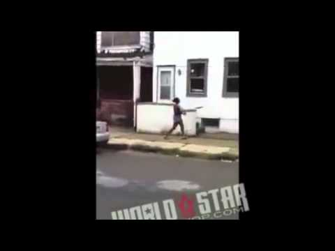 GIRL GETS JUSTICE ON CHEATING BOYFRIEND WITH A BAT