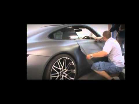 Matte Grey Car Wrap Porsche 911 Youtube
