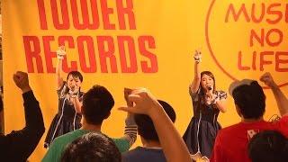 平成27年12月13日(日)にミント神戸6F タワーレコード(TOWER RECORDS)...