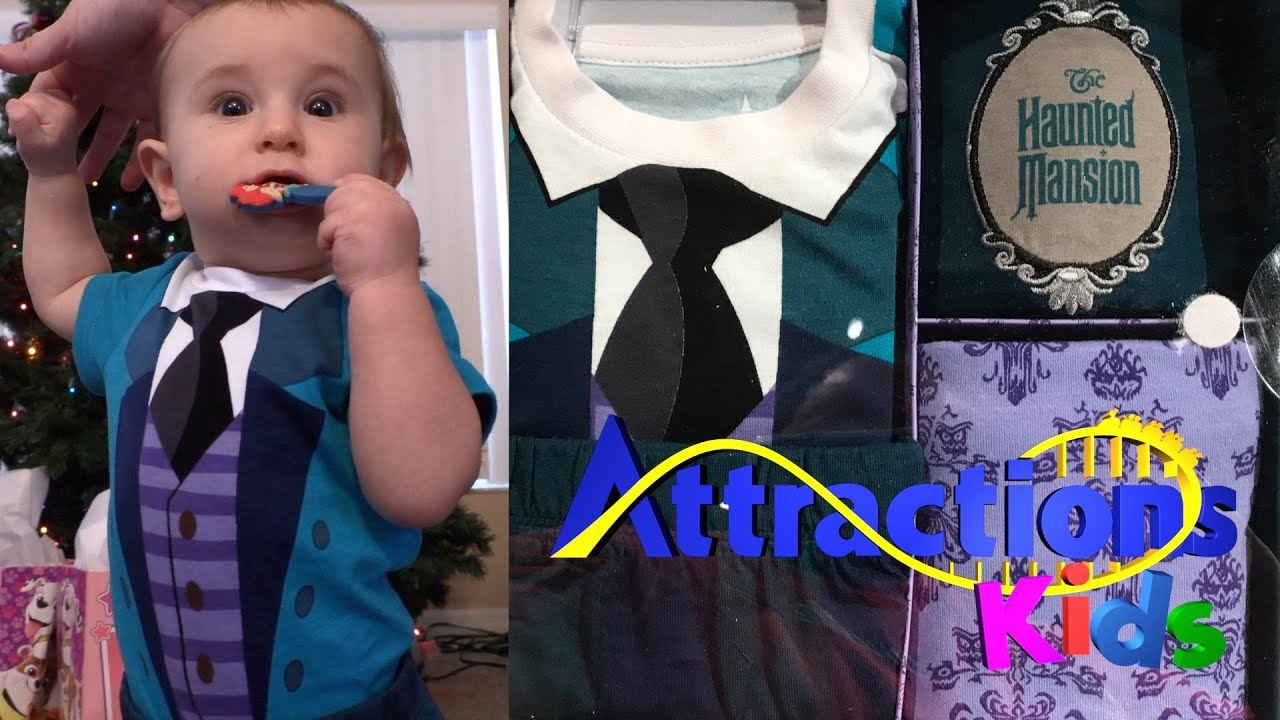 Haunted Mansion Baby Clothes Unboxing / Review | Attractions Kids