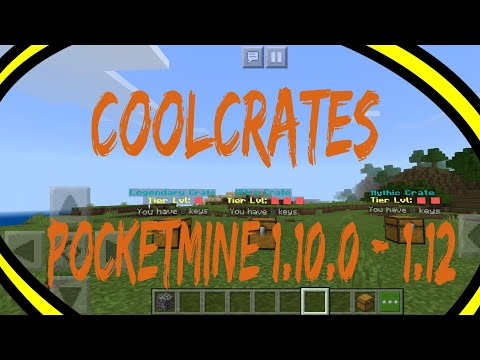 CoolCrates | PocketMine Plugin | Minecraft PE/BE 1.10.0 - 1.14.0 [Free Download]
