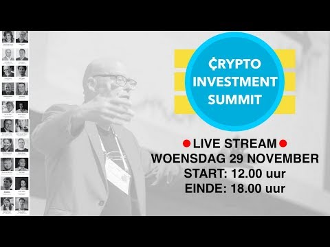 CRYPTO INVESTMENT SUMMIT - LIVE STREAM | Crypto for Dummies, Exchanges, Wallets, Mining, ICOs