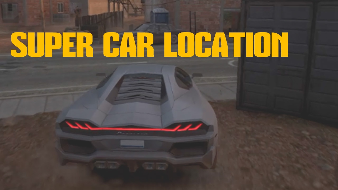 Ghost Recon Wildlands Super Car Location Not Mission Youtube