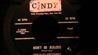 isley brothers dont be jealous classic doo wop ballad