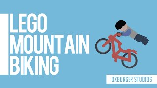 Lego Mountain Biking