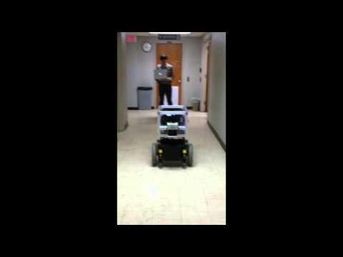Jinx trundling the hallway - Group Beta - EECS376/476 PS6