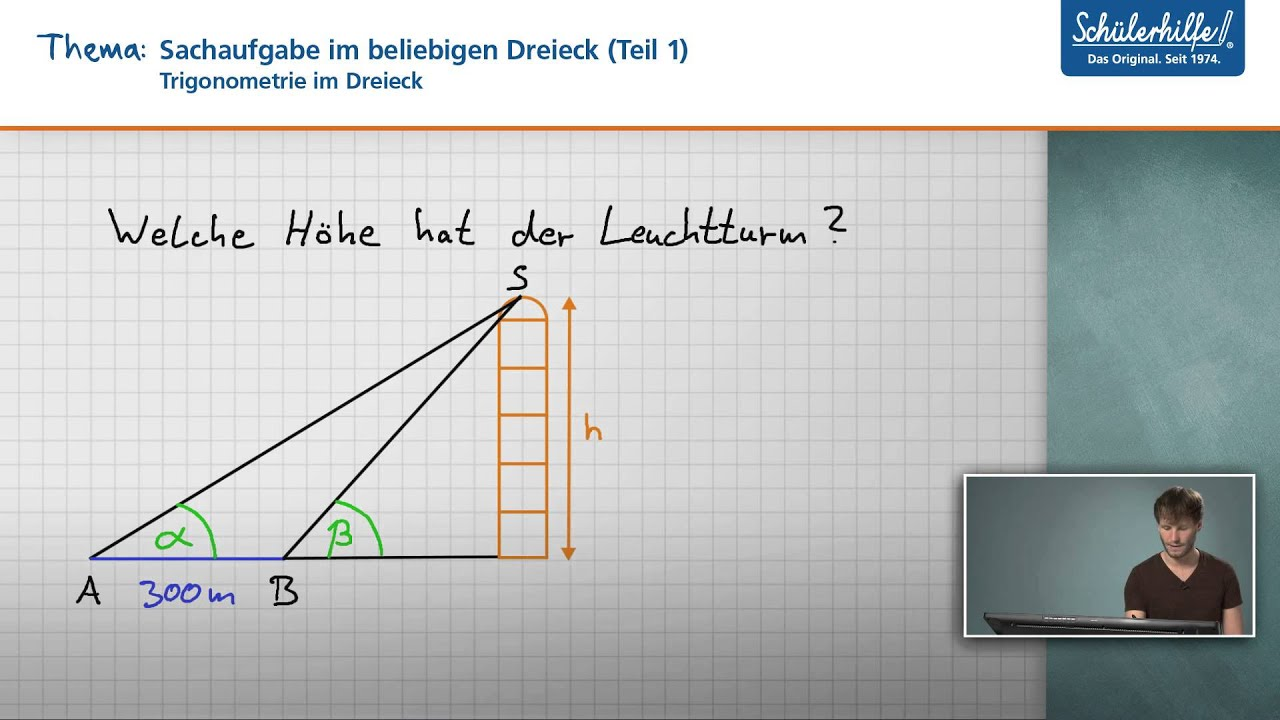 Perfect Trigonometrie Problem Arbeitsblatt Lösung Adornment ...