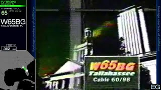 TV DX from Orlando, FL (Tropo 1992)
