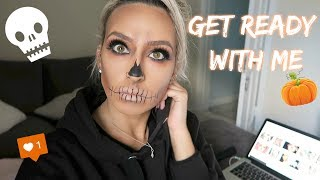HOW I GET READY FOR ONLINE POSTS | Vlog Oct 2018