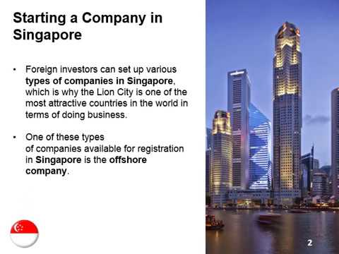 Uses of Offshore Companies in Singapore