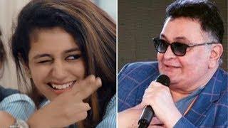 Rishi Kapoor gets TROLLED for praising Priya Prakash Varrier